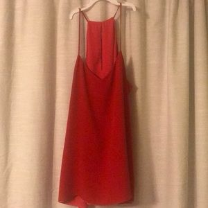 Reversible red and coral Express tank